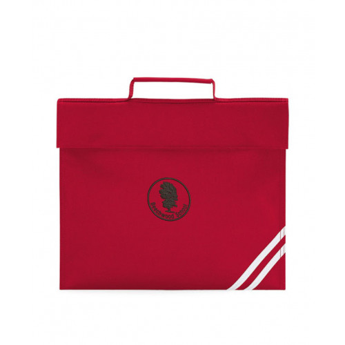 Beechwood Primary Book Bag Red