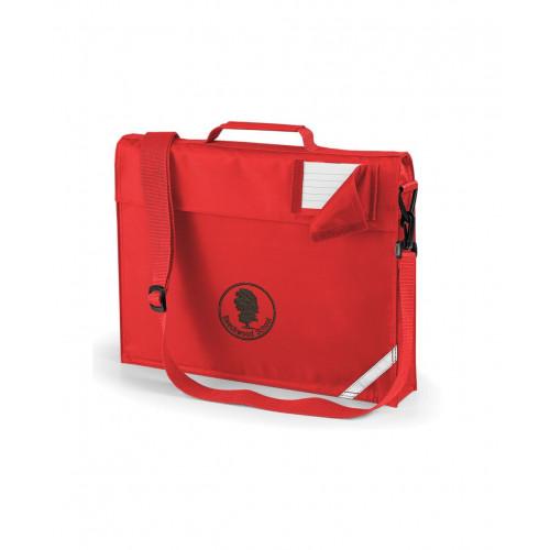 Beechwood Primary Book Bag Red - Shoulder Strap