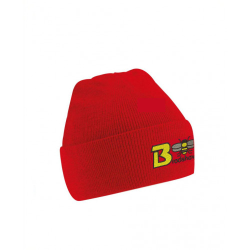 Bradshaw Primary Red Knitted Hat