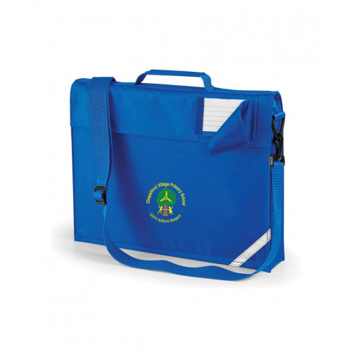 Chapelford Village School Royal Book Bag - Shoulder Strap