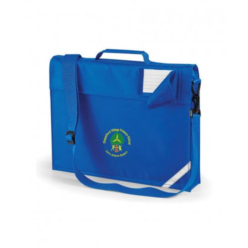 Chapelford Village School Royal Book Bag - Shoulder Strap