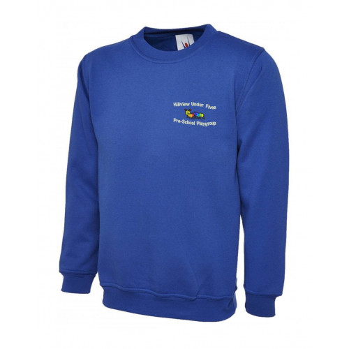 Hill View Playgroup Round Neck Sweatshirt