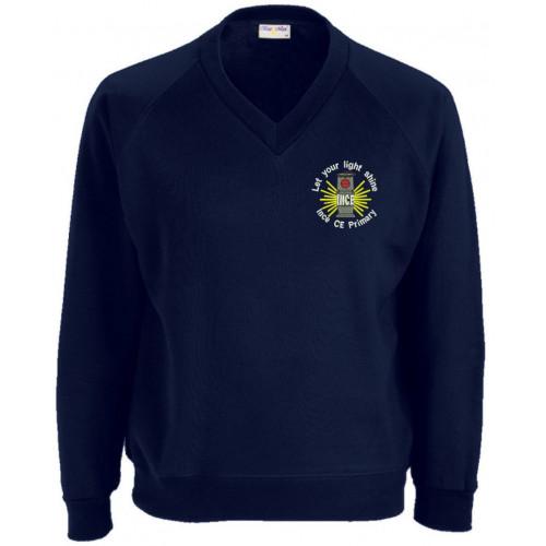 Ince CE Primary School V/Neck Sweatshirt