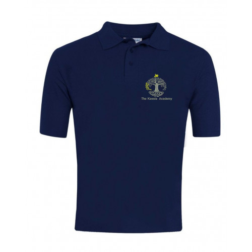 Kassia Academy School Navy Polo Shirt - Staff Only