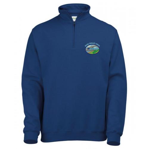 Moore Primary Staff 1/4 Zip Sweatshirt - Unisex