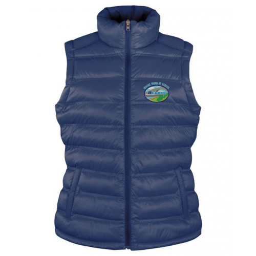 Moore Primary Staff Padded Gilet - Womens