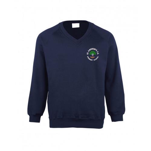St Andrews Boothstown School V/Neck Sweatshirt