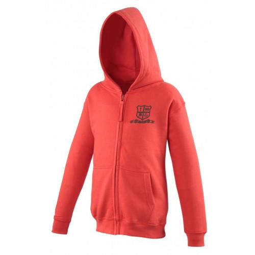 St Benedicts Wigan School Zip Hoodie