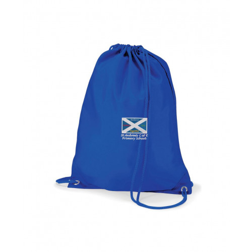 St Andrews Warrington School PE Bag Royal