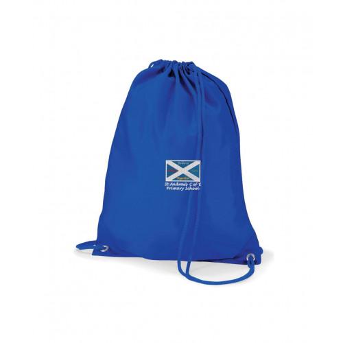 St Andrews Warrington School PE Bag Royal