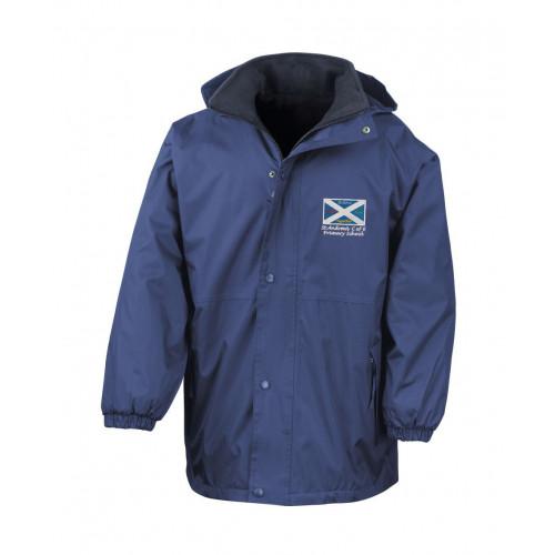 St Andrews Warrington School Waterproof Coat