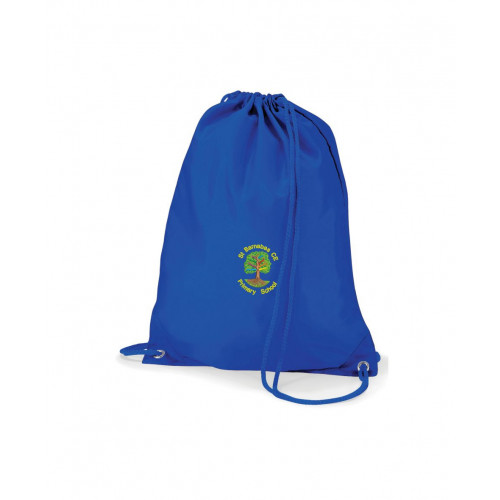 St Barnabas PE Bag Royal