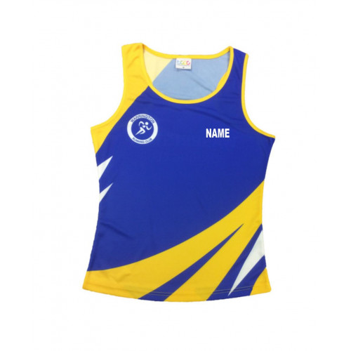 Warrington Running Club Sublimated Vest - Ladies